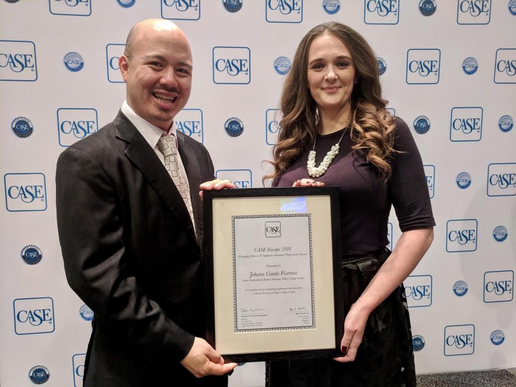 Emerging Alumni & Supporter Relations Professional Award