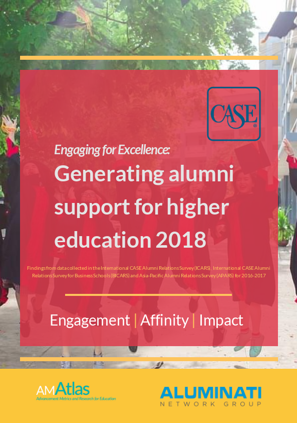 Aluminati Supports CASE In Publication Of Alumni Relations Report