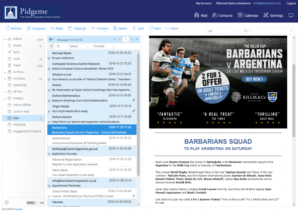 New Webmail Preview