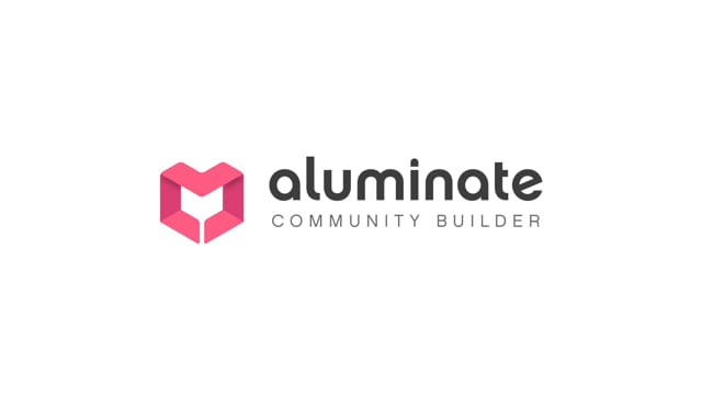 Aluminate Community Builder: A Platform for Changing Times