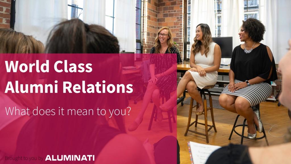 World Class Alumni Relations